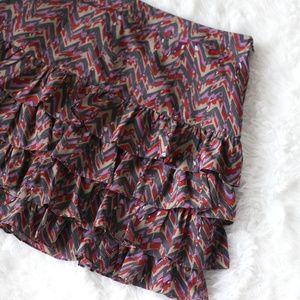 NWT Banana Republic ruffle mini skirt